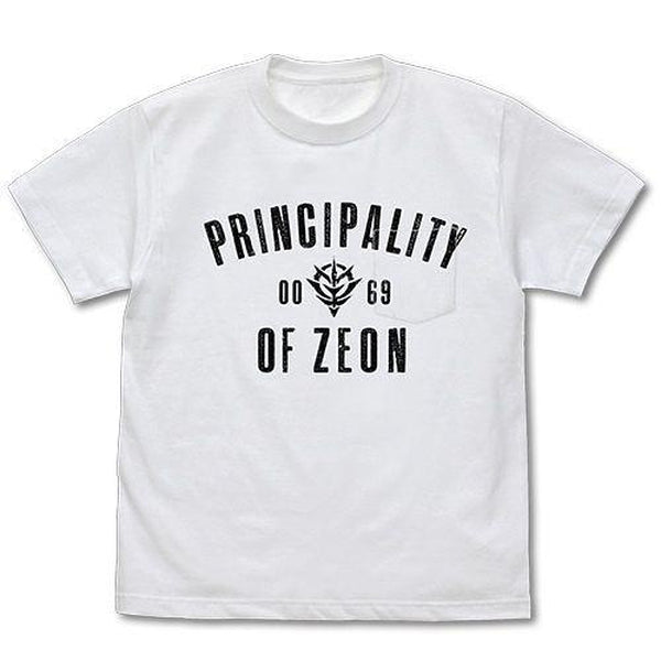 Cospa T-Shirt Mobile Suit Gundam Principality of Zeon with Pocket