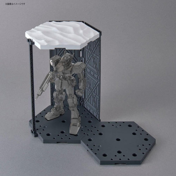 Bandai 1/144 30MM Customise Scene Base (Snowfield Ver.) example use 3