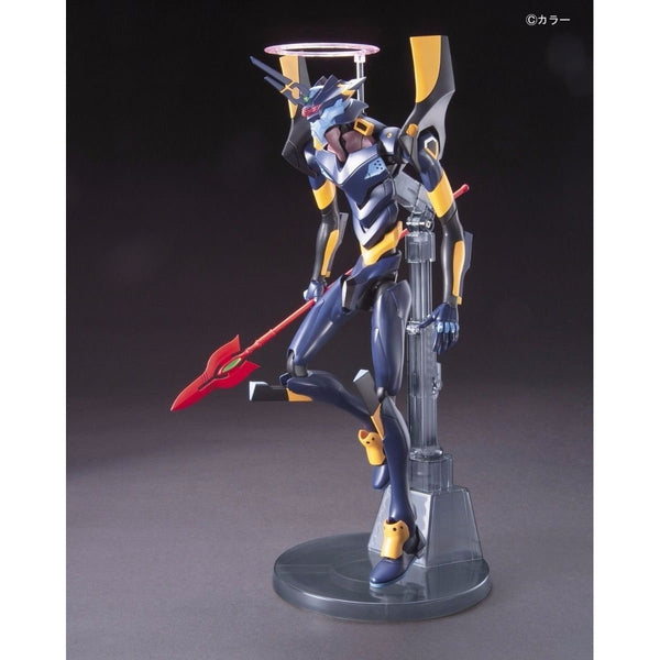Bandai HG Evangelion Mark.06 side on pose with spear