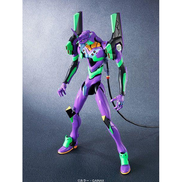 Bandai  Evangelion Unit 01 New Movie Ver. front on view.
