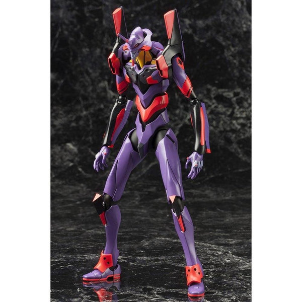 Kotobukiya Evangelion Unit-01 Test Type Awakening Ver.#gundamexpressaustralia #geaatyourservice #gea #geamost trusted #geanumber1  front on view.