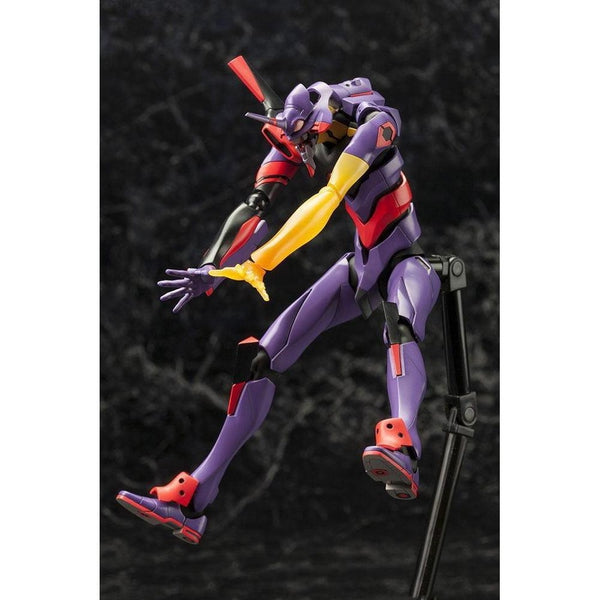 Kotobukiya Evangelion Unit-01 Test Type Awakening Ver. action pose 4