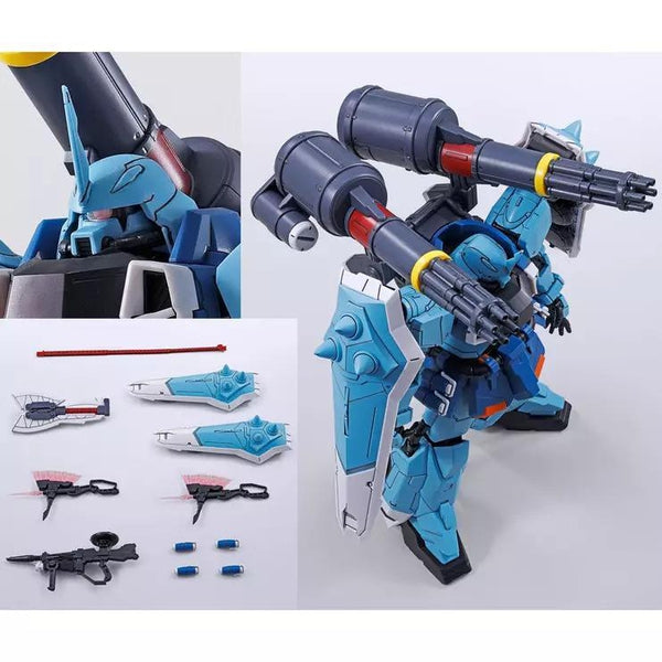 Bandai MG 1/100 Yzack Joule's Slash Zaku Phantom included accessories