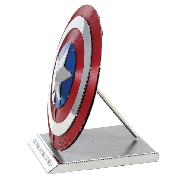 Metal Earth - Avengers - Captain America's Shield side view