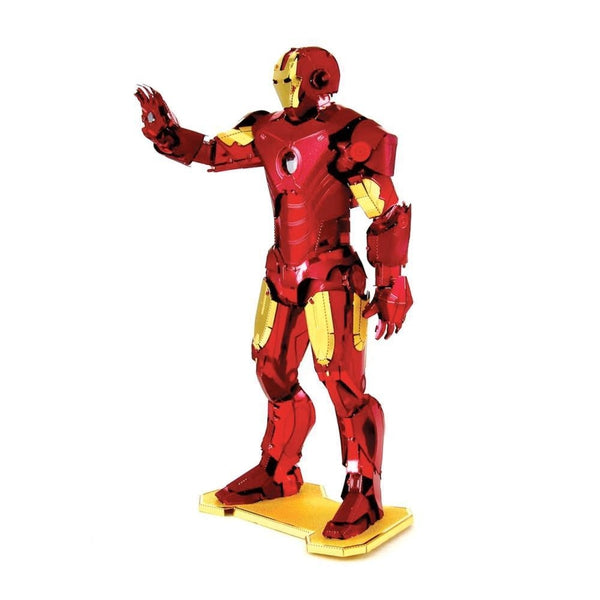 Metal Earth - Avengers - Iron Man (Mark IV) side on