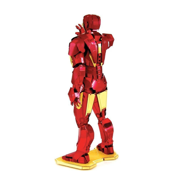 Metal Earth - Avengers - Iron Man (Mark IV) rear view.