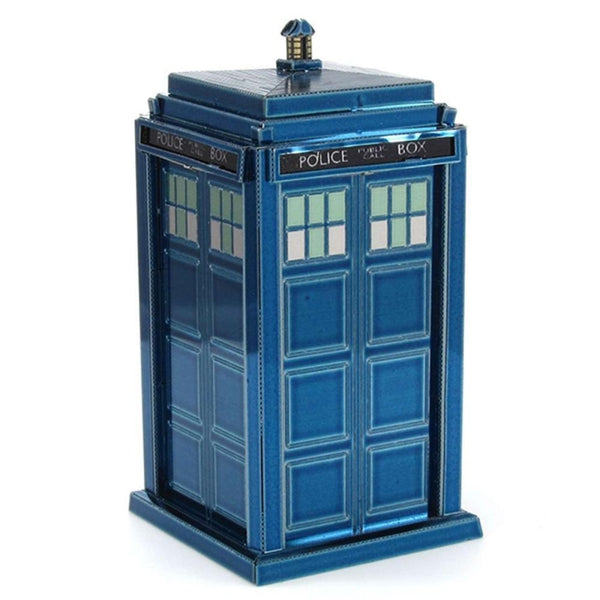 Metal Earth - Doctor Who - Tardis rear view.