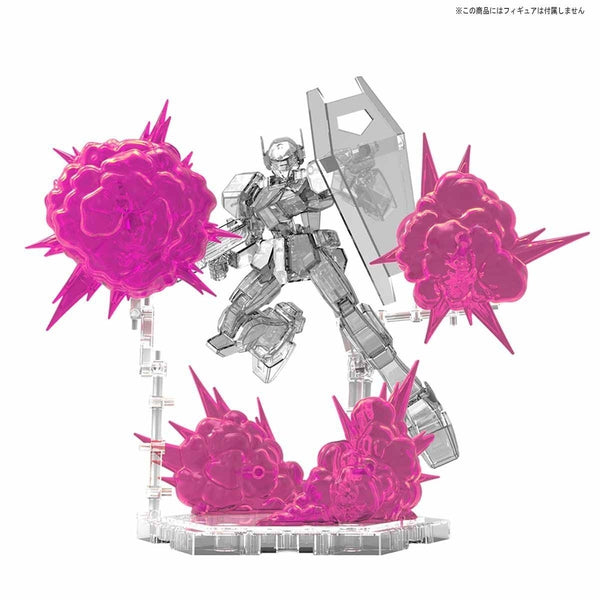 Bandai Figure Rise Burst Effect (space pink) pose 3