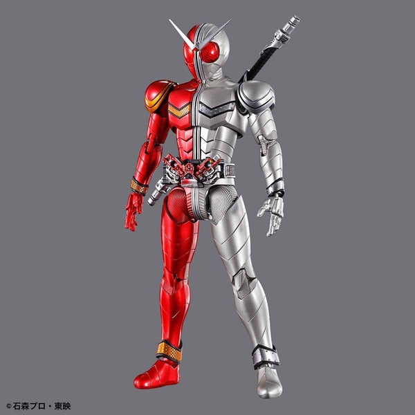 Bandai Figure Rise Standard Kamen Rider Double Heat Metal front on pose