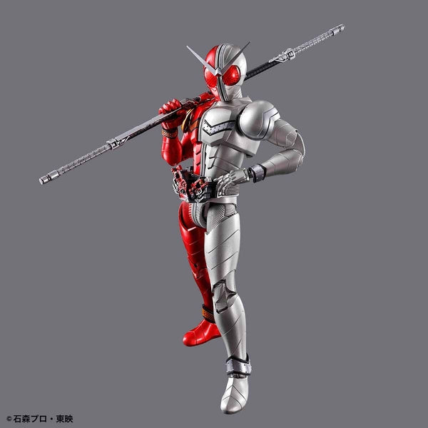 Bandai Figure Rise Standard Kamen Rider Double Heat Metal with weapon