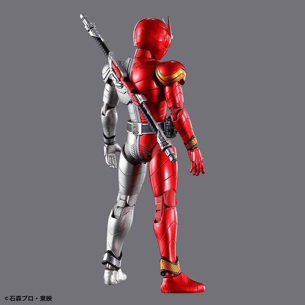 Bandai Figure Rise Standard Kamen Rider Double Heat Metal rear view
