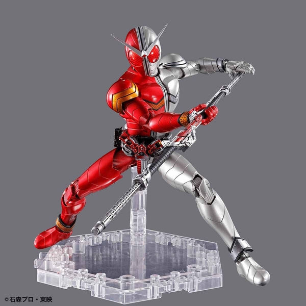 Bandai Figure Rise Standard Kamen Rider Double Heat Metal action pose 3