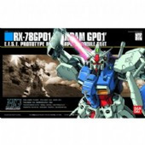 Bandai 1/144 HGUC RX-78GP01 Zephyranthes package art