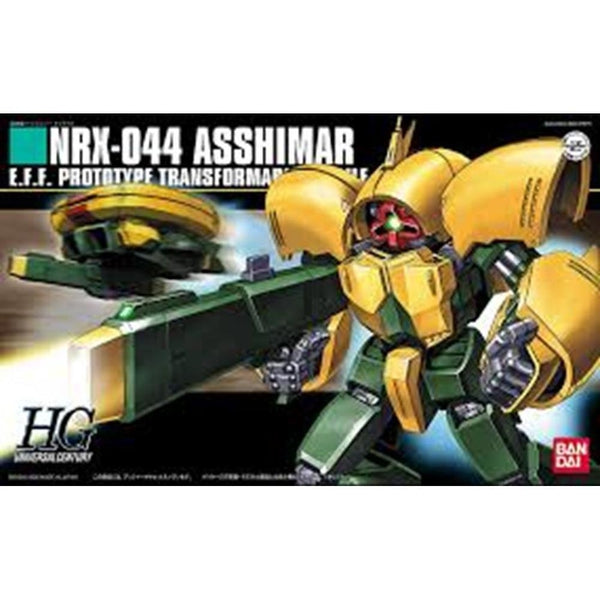 Bandai 1/144 HGUC Asshimar package art