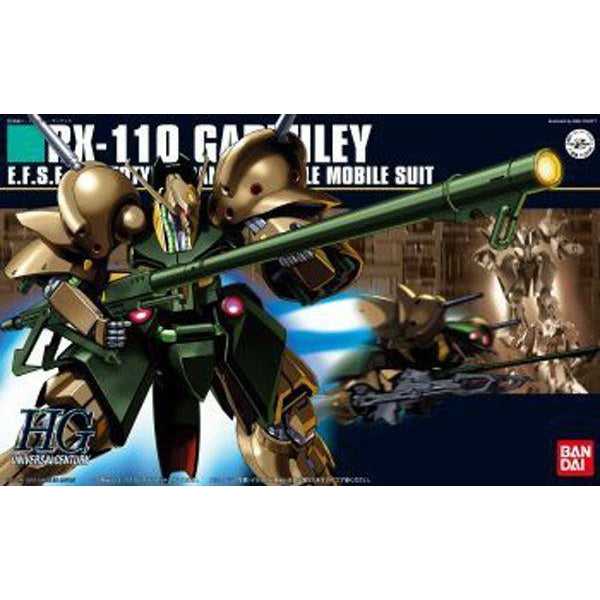 Bandai 1/144 HGUC RX-110 Gabthley package art