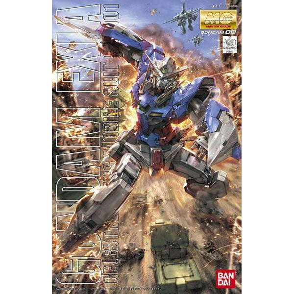 Bandai 1/100 MG Gundam Exia-Celestial Being Mobile Suit  package artwork