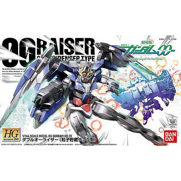 Bandai 1/144 HG OO Raiser GN Condenser Type package art