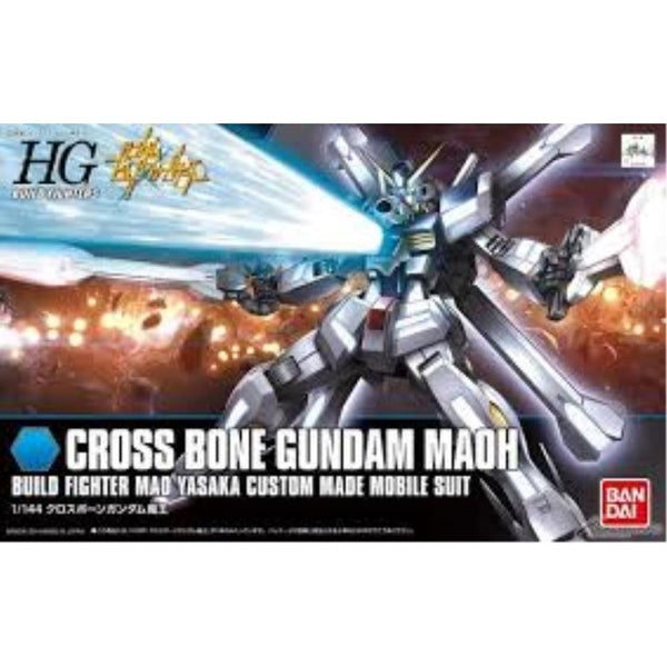 Bandai 1/144 HGBF Gundam Cross Bone Maoh Build Fighter Custom Made Mobile Suit box