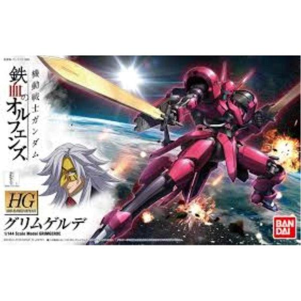 Bandai 1/144 HGIBO Grimgerde package art