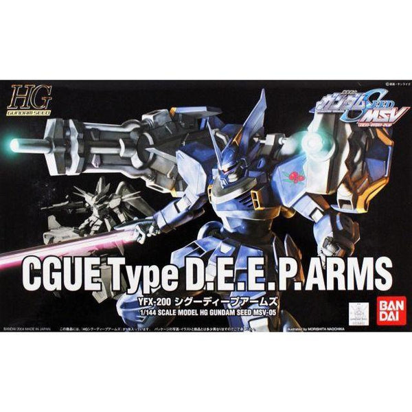 Bandai 1/144 HG CGUE Deep Arms package art