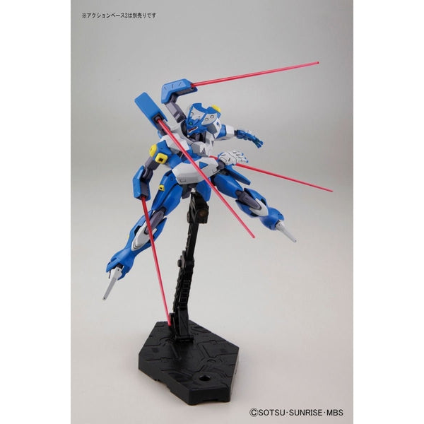 Bandai 1/144 Dahack action pose with 4  beam sabers