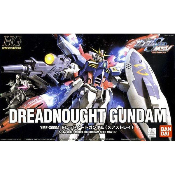 Bandai 1/144 HG Dreadnought Gundam package art