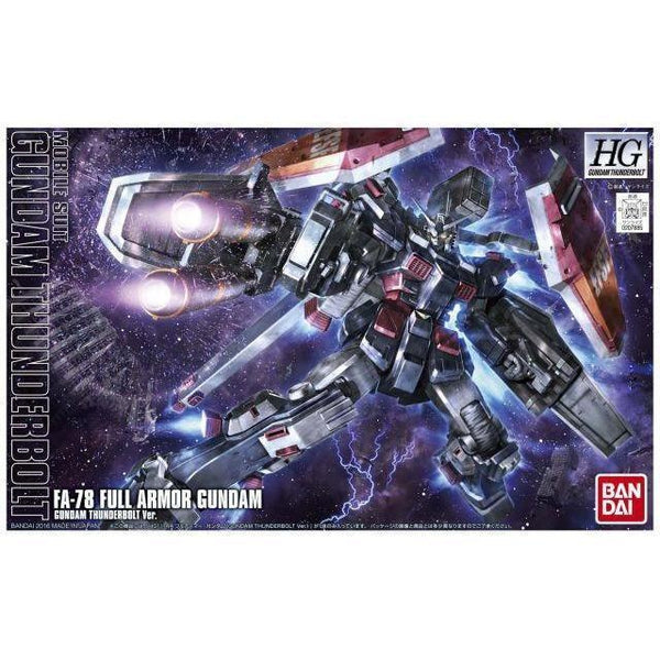 Bandai 1/144 HG FA-78 Full Armor Gundam Thunderbolt Anime Ver. package art