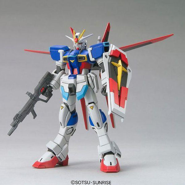 Bandai 1/144 HG Force Impulse Gundam front on view.