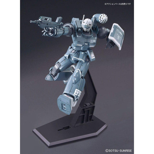Bandai 1/144 HG Guncannon First Type Iron Cavalry on action base