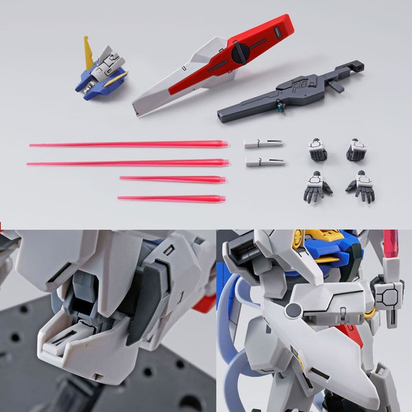 P-Bandai 1/144 HG Gundam Plutone accessories and close ups