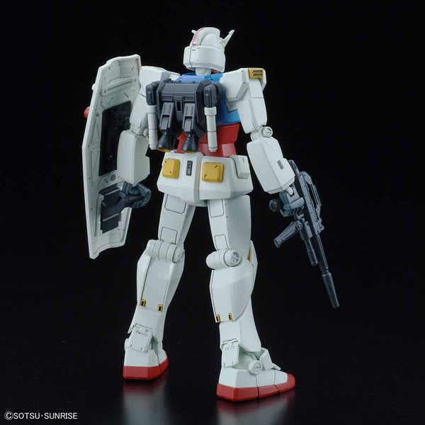 Bandai 1/144 HG G40 Industrial Design Ver. rear view. with weapons
