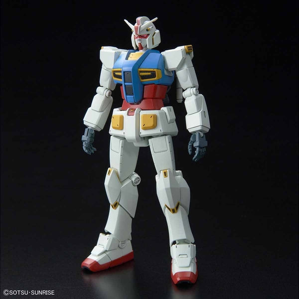 Bandai 1/144 HG G40 Industrial Design Ver. front on view.