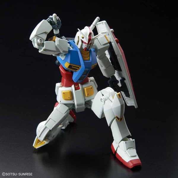 Bandai 1/144 HG G40 Industrial Design Ver. reaching for saber