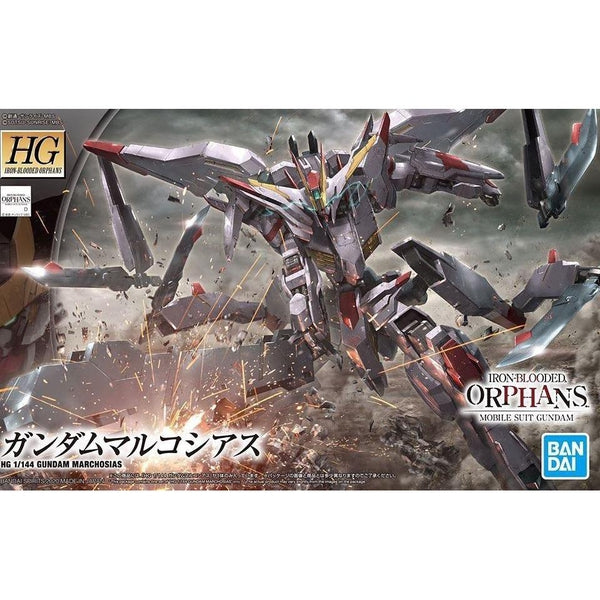 Bandai 1/144 HGIBO Gundam Marchosias package artwork