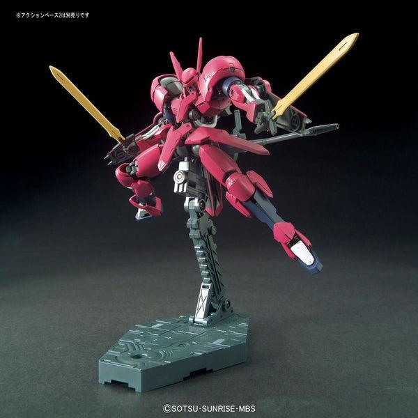 Bandai 1/144 HGIBO Grimgerde action pose with swords