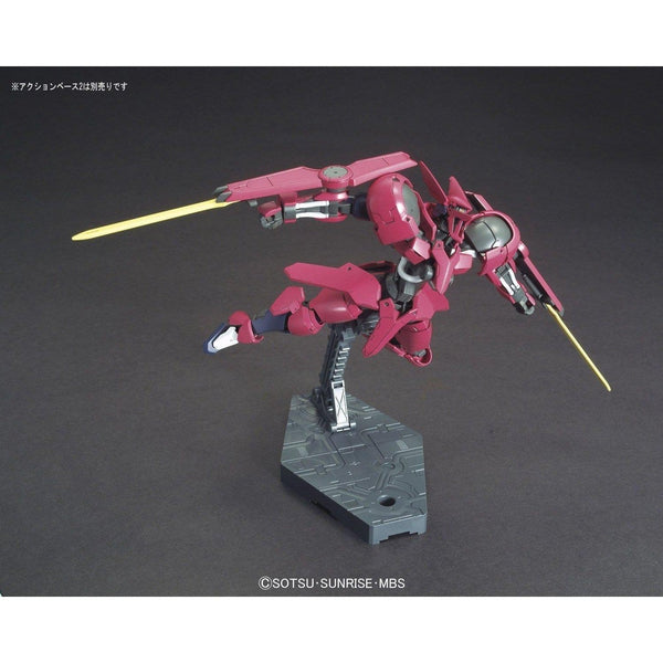 Bandai 1/144 HGIBO Grimgerde action pose in flight