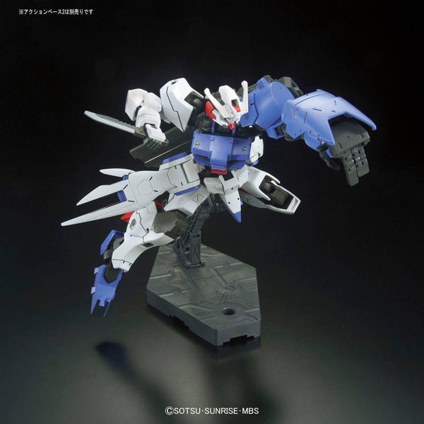 Bandai 1/144 HGIBO Gundam Astaroth action pose on stand