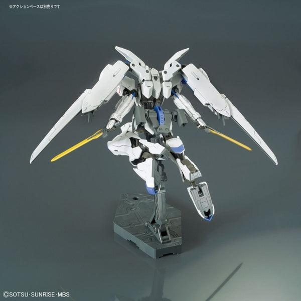 Bandai 1/144 HG IBO Gundam Bael rear view full flight