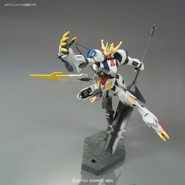 Bandai 1/144 HG Gundam Barbatos Lupus Rex action pose 1