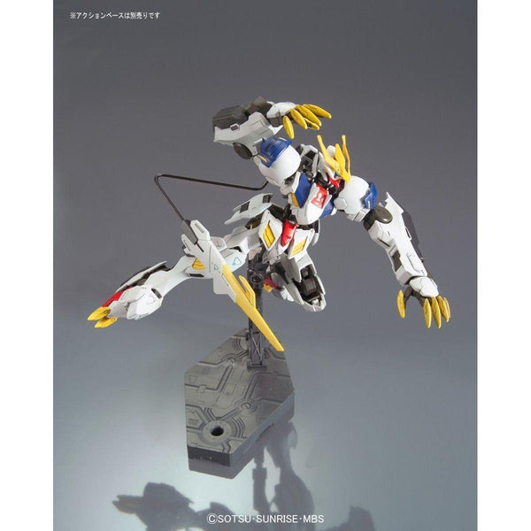 Bandai 1/144 HG Gundam Barbatos Lupus Rex action pose 2 flight