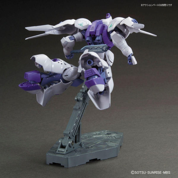 Bandai 1/144 HG IBO Gundam Kimaris rear view in flight