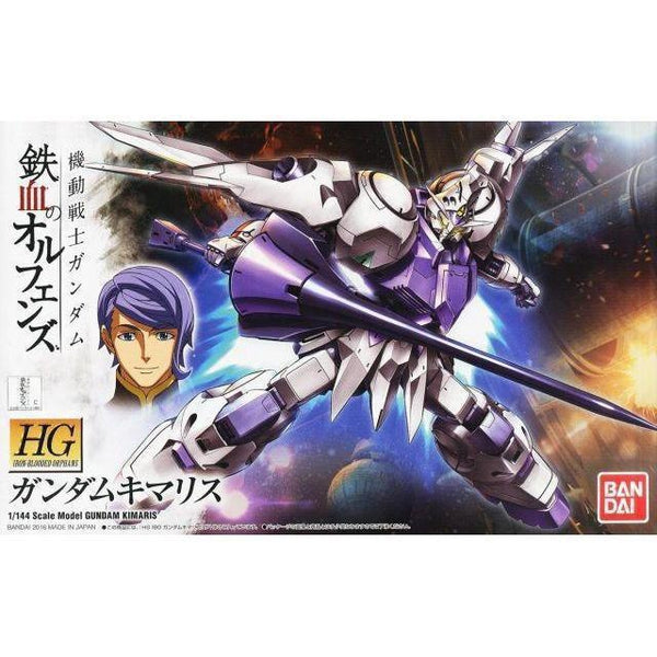 Bandai 1/144 HG IBO Gundam Kimaris package art