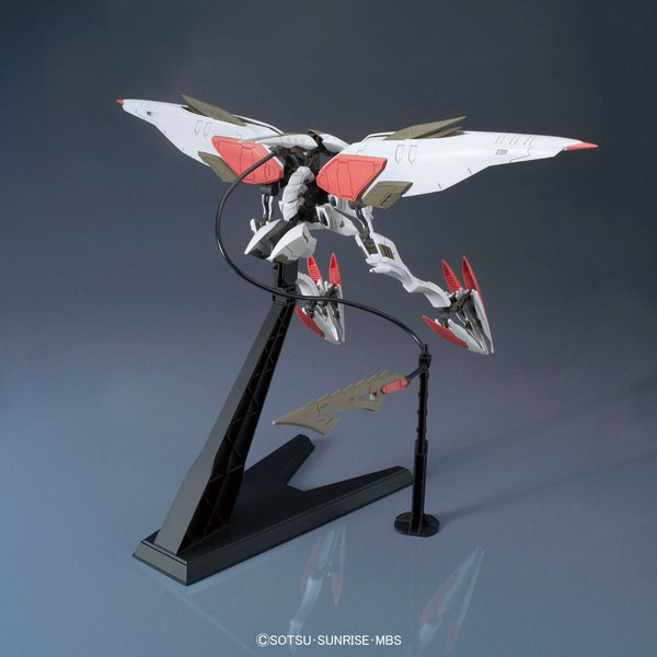 Bandai 1/144 HG IBO Gundam Armour Hashmal action pose 2