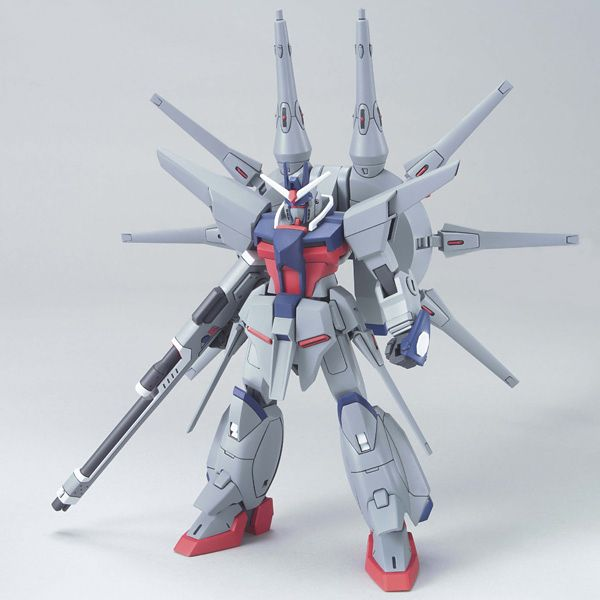 Bandai 1/144 HG ZGMF-X666S Legend Gundam front on pose