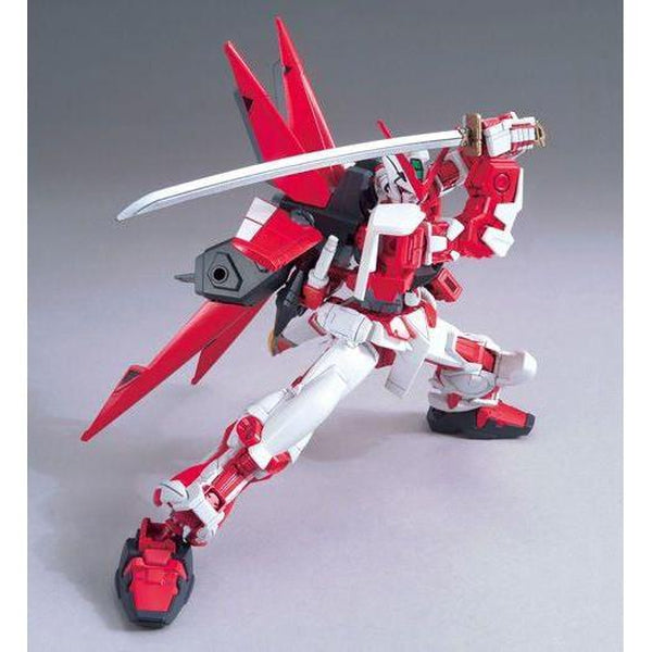 Bandai 1/144 HG MBF-P02 Gundam Astray Red Frame Flight Unit action pose with sword