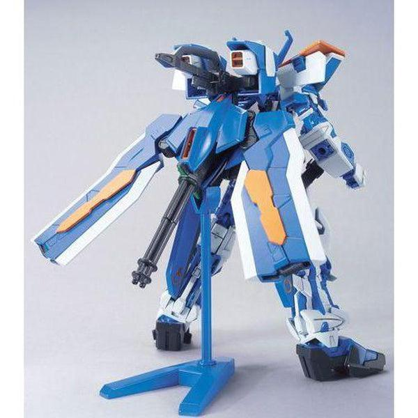 Bandai 1/144 HG Astray Gundam Blue Frame Second L rear view
