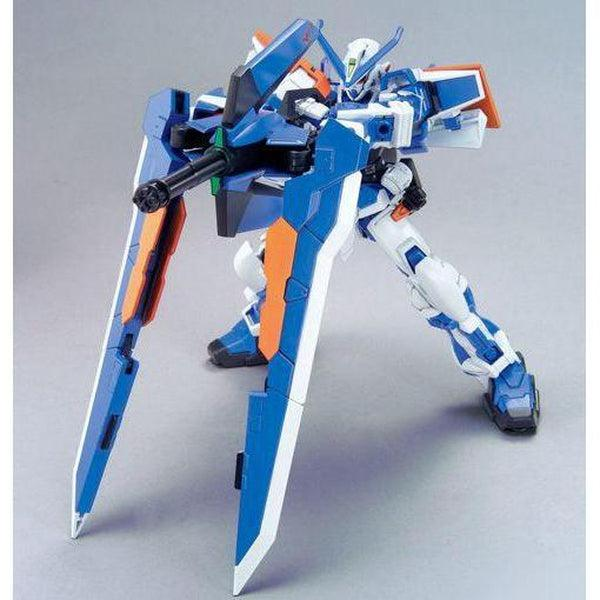 Bandai 1/144 HG Astray Gundam Blue Frame Second L gatling gun on bipod