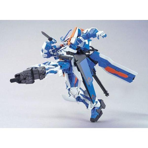 Bandai 1/144 HG Astray Gundam Blue Frame Second L side on kick pose