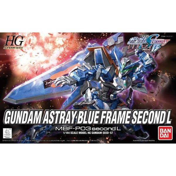 Bandai 1/144 HG Astray Gundam Blue Frame Second L package art
