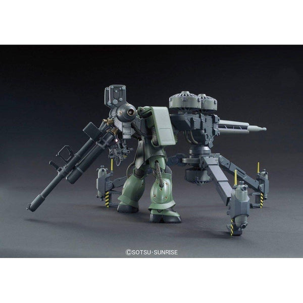 Bandai 1/144 HG Zaku II + Big Gun (Gundam Thunderbolt ) with weapon 2